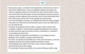 Consultoría para hostelería - Jorge de la Cruz